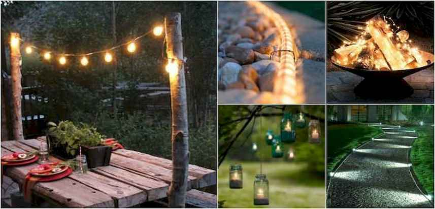 12 Easy and Creative DIY Outdoor Lighting Ideas