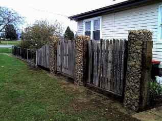 15 Fabulous Gabion Fence Design for Garden Landscaping Ideas