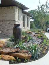16 Awesome Front Yard Rock Garden Landscaping Ideas