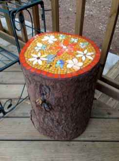 17 Excellent DIY Mosaic Garden Decoration Ideas for Front and Backyard Landscaping