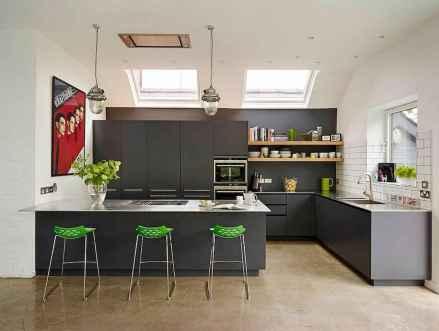 22 Incredible Farmhouse Gray Kitchen Cabinet Design Ideas