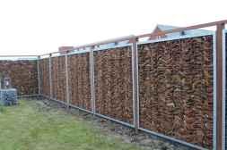 24 Fabulous Gabion Fence Design for Garden Landscaping Ideas