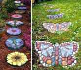 25 Excellent DIY Mosaic Garden Decoration Ideas for Front and Backyard Landscaping