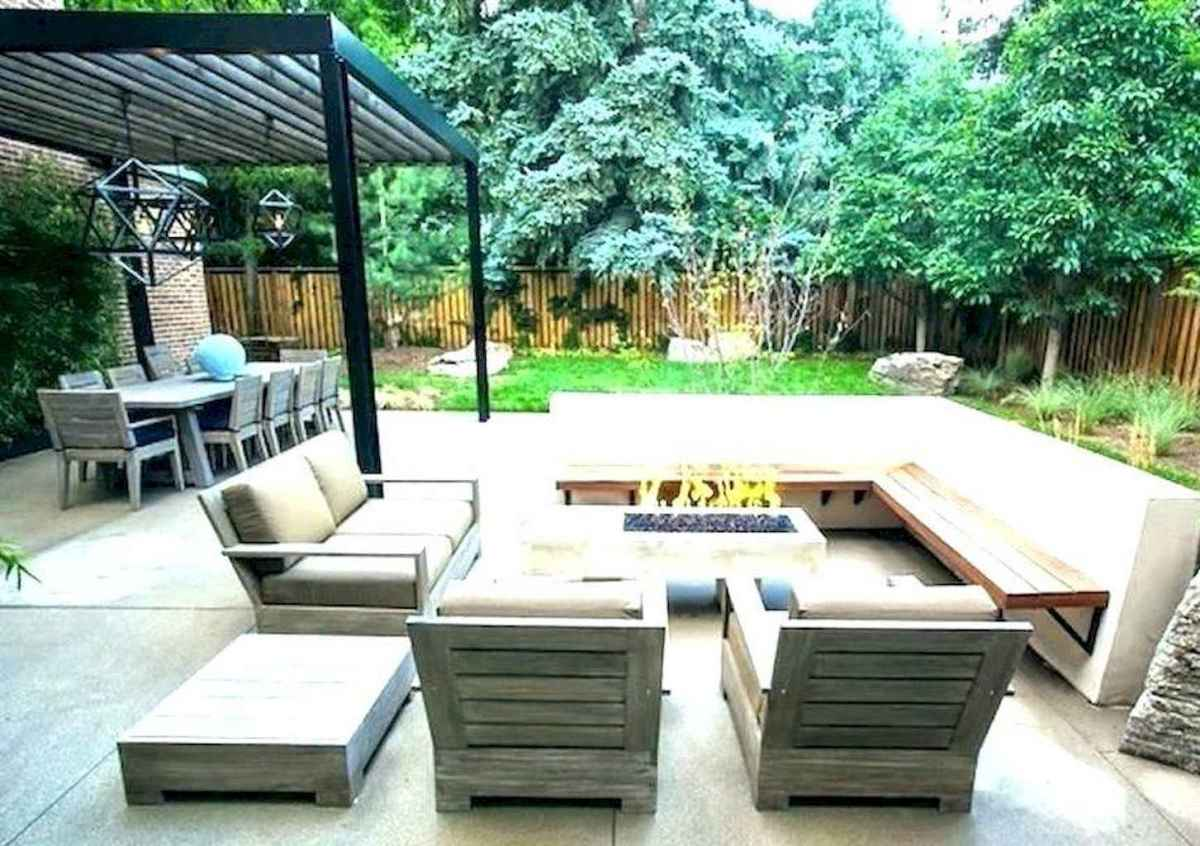 26 Easy Backyard Fire Pit with Cozy Seating Area Ideas