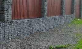 26 Fabulous Gabion Fence Design for Garden Landscaping Ideas
