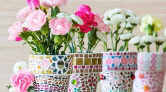 28 Excellent DIY Mosaic Garden Decoration Ideas for Front and Backyard Landscaping