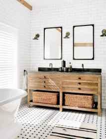 30 Awesome Farmhouse Bathroom Tile Floor Decor Ideas