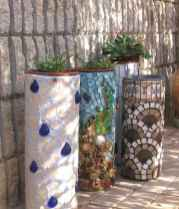 31 Excellent DIY Mosaic Garden Decoration Ideas for Front and Backyard Landscaping