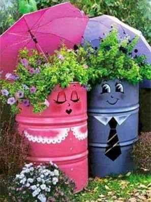 31 Inspiring Faucet Garden Decor for Front and Backyard Ideas