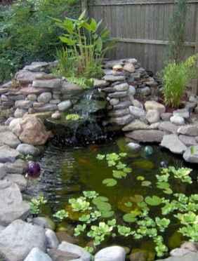 34 Unique Backyard Garden Water Feature Landscaping Ideas