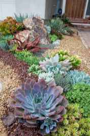 35 Awesome Front Yard Rock Garden Landscaping Ideas