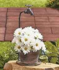 36 Inspiring Faucet Garden Decor for Front and Backyard Ideas