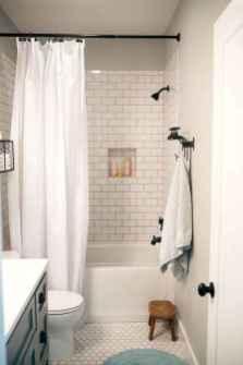 38 Awesome Farmhouse Bathroom Tile Floor Decor Ideas