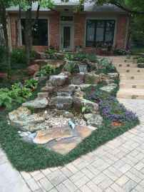 39 Unique Backyard Garden Water Feature Landscaping Ideas