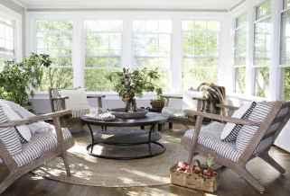40 Cozy Farmhouse Sunroom Decor Ideas