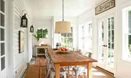 42 Cozy Farmhouse Sunroom Decor Ideas