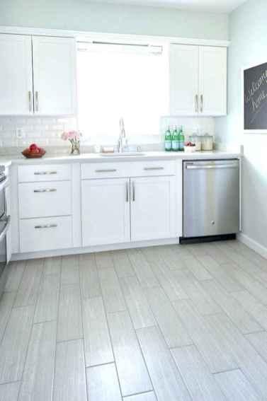 44 Incredible Farmhouse Gray Kitchen Cabinet Design Ideas
