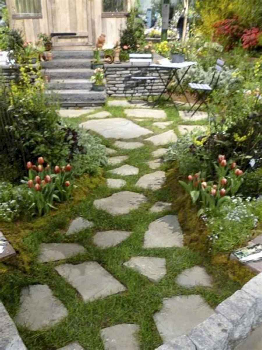 44 Stunning Front Yard Garden Pathways Landscaping Ideas
