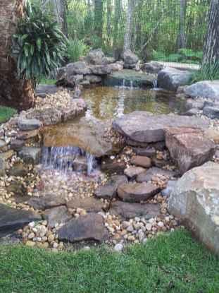44 Unique Backyard Garden Water Feature Landscaping Ideas