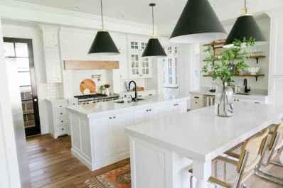 45 Incredible Farmhouse Gray Kitchen Cabinet Design Ideas