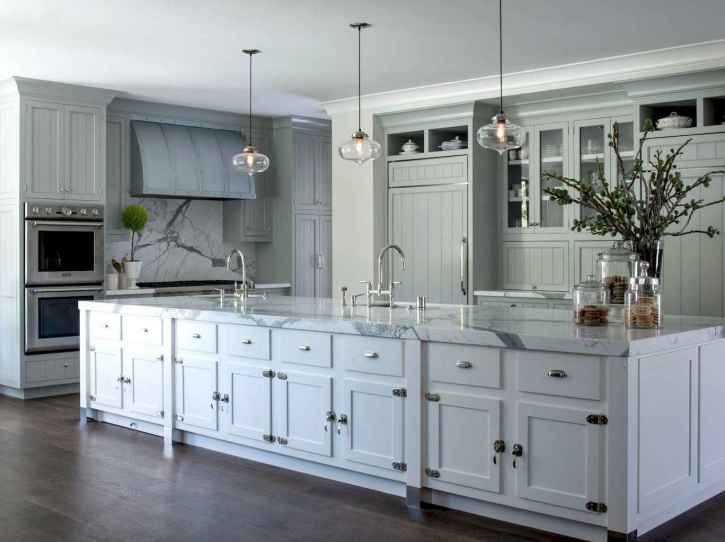 47 Functional Farmhouse Kitchen Island Design Ideas