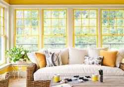 48 Cozy Farmhouse Sunroom Decor Ideas