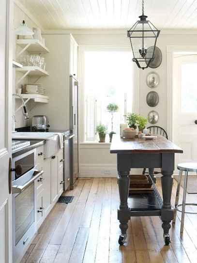 48 Functional Farmhouse Kitchen Island Design Ideas