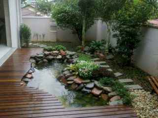 48 Unique Backyard Garden Water Feature Landscaping Ideas