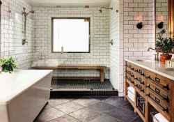49 Awesome Farmhouse Bathroom Tile Floor Decor Ideas