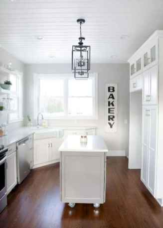 50 Incredible Farmhouse Gray Kitchen Cabinet Design Ideas