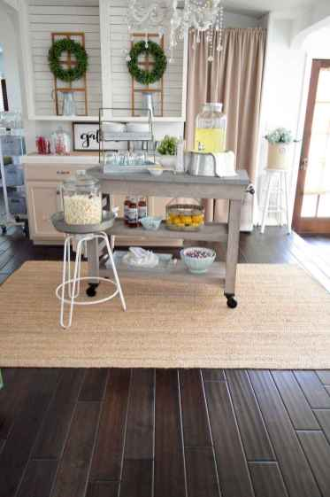 52 Functional Farmhouse Kitchen Island Design Ideas