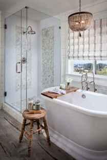 53 Awesome Farmhouse Bathroom Tile Floor Decor Ideas