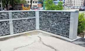 53 Fabulous Gabion Fence Design for Garden Landscaping Ideas