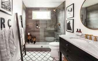 54 Awesome Farmhouse Bathroom Tile Floor Decor Ideas