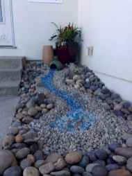 54 Awesome Front Yard Rock Garden Landscaping Ideas