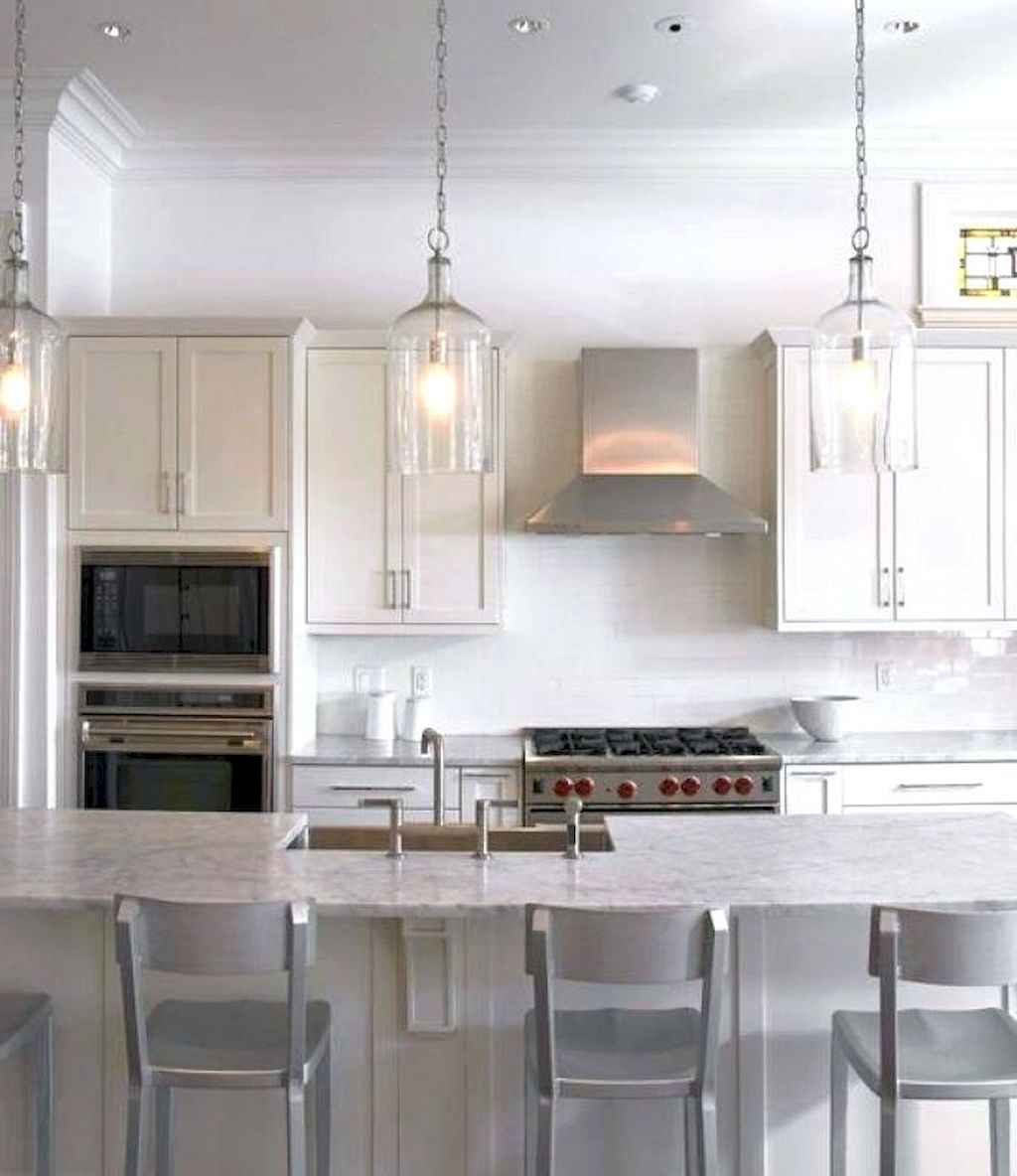 54 Functional Farmhouse Kitchen Island Design Ideas