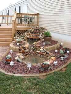 54 Unique Backyard Garden Water Feature Landscaping Ideas