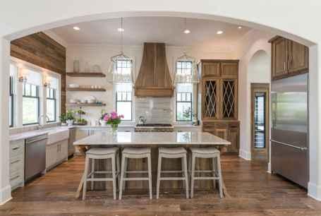 55 Functional Farmhouse Kitchen Island Design Ideas