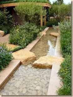55 Unique Backyard Garden Water Feature Landscaping Ideas
