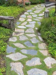 56 Fabulous Garden Path and Walkway for Front and Backyard Ideas