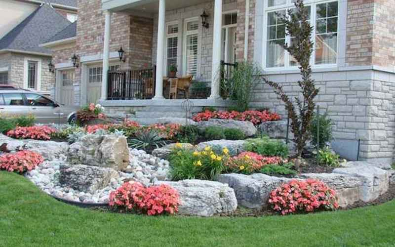 56 Low Maintenance Front Yard Landscaping Ideas