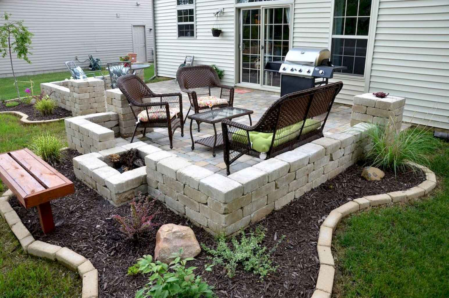 57 Awesome Small Patio on Budget Design Ideas