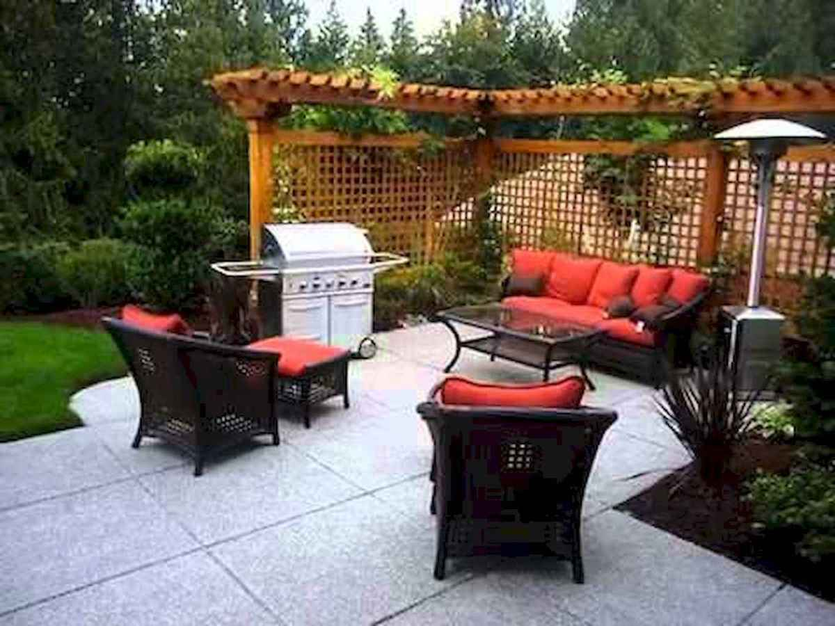 58 Awesome Small Patio on Budget Design Ideas