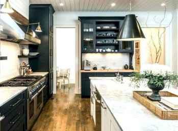 60 Incredible Farmhouse Gray Kitchen Cabinet Design Ideas