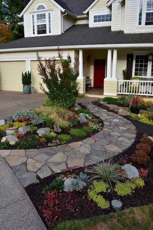 61 Stunning Front Yard Garden Pathways Landscaping Ideas