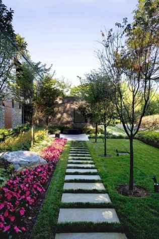 64 Stunning Front Yard Garden Pathways Landscaping Ideas