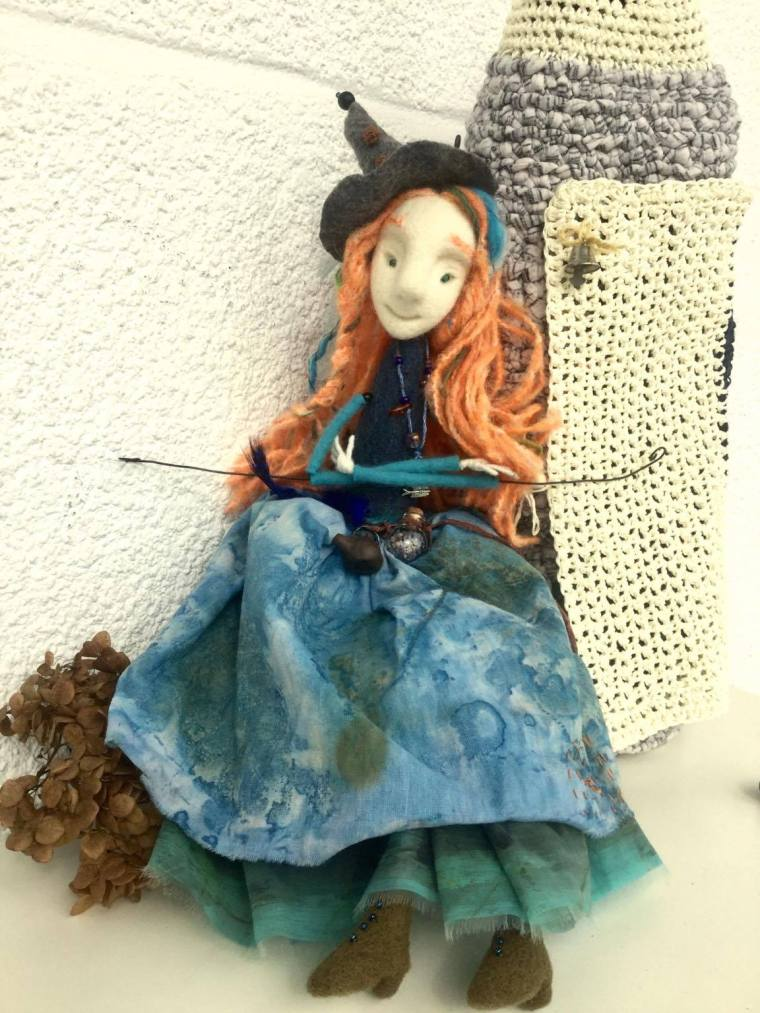 puppet Francois Villon for writer Faina Grimberg 1
