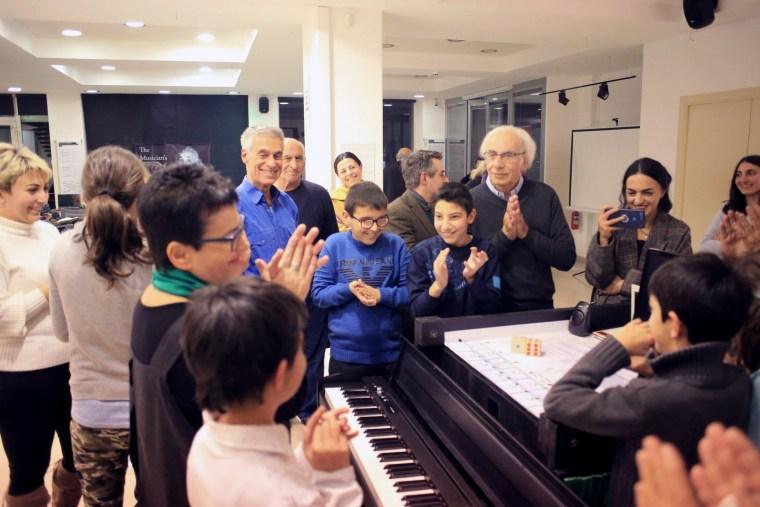 Syuzi Hakobyan teaches art to visually impaired