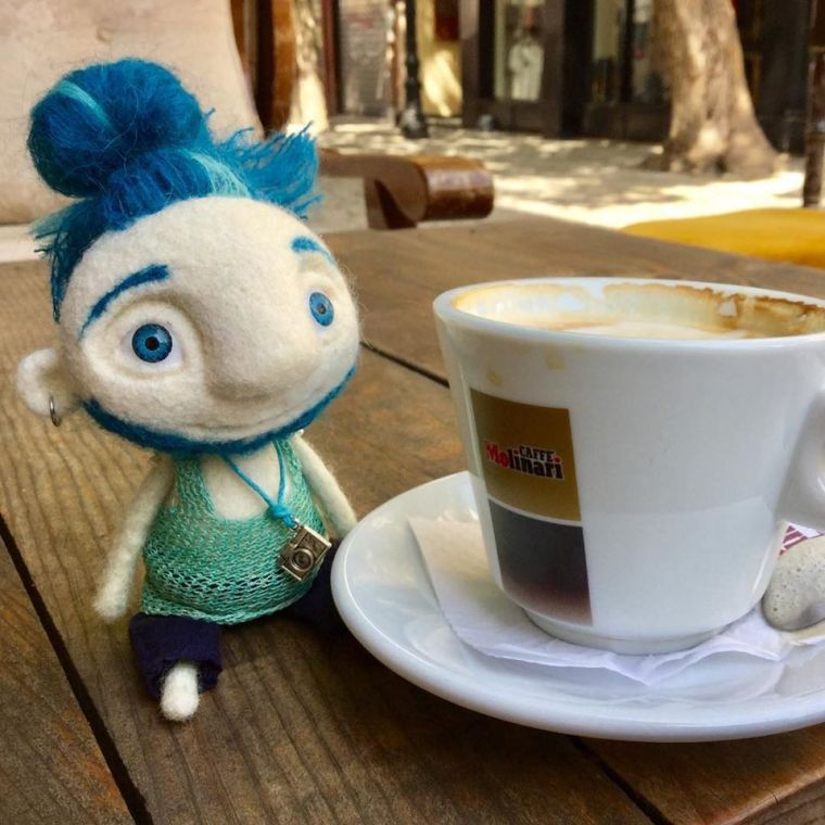 Yaroslava Bykova coffee man 3