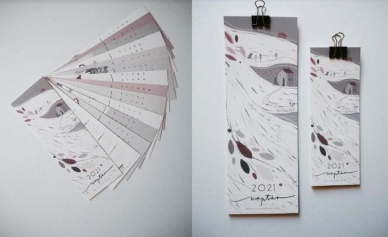 Panni Czikkely calendar 1